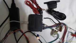 Автосигнализация Pandora DXL 3210 с CAN на стенде