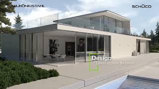 AluKönigStahl | Schüco ASS 77 PD | Product animation