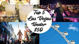 Top 5 Things to Do in Vegas Under $50 | Travel Guides | How 2 Travelers