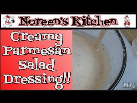 Creamy Parmesan Salad Dressing Recipe Noreen's Kitchen