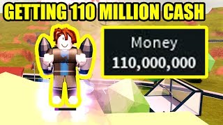 BACON HAIR gets 110 MILLION CASH in Roblox Jailbreak