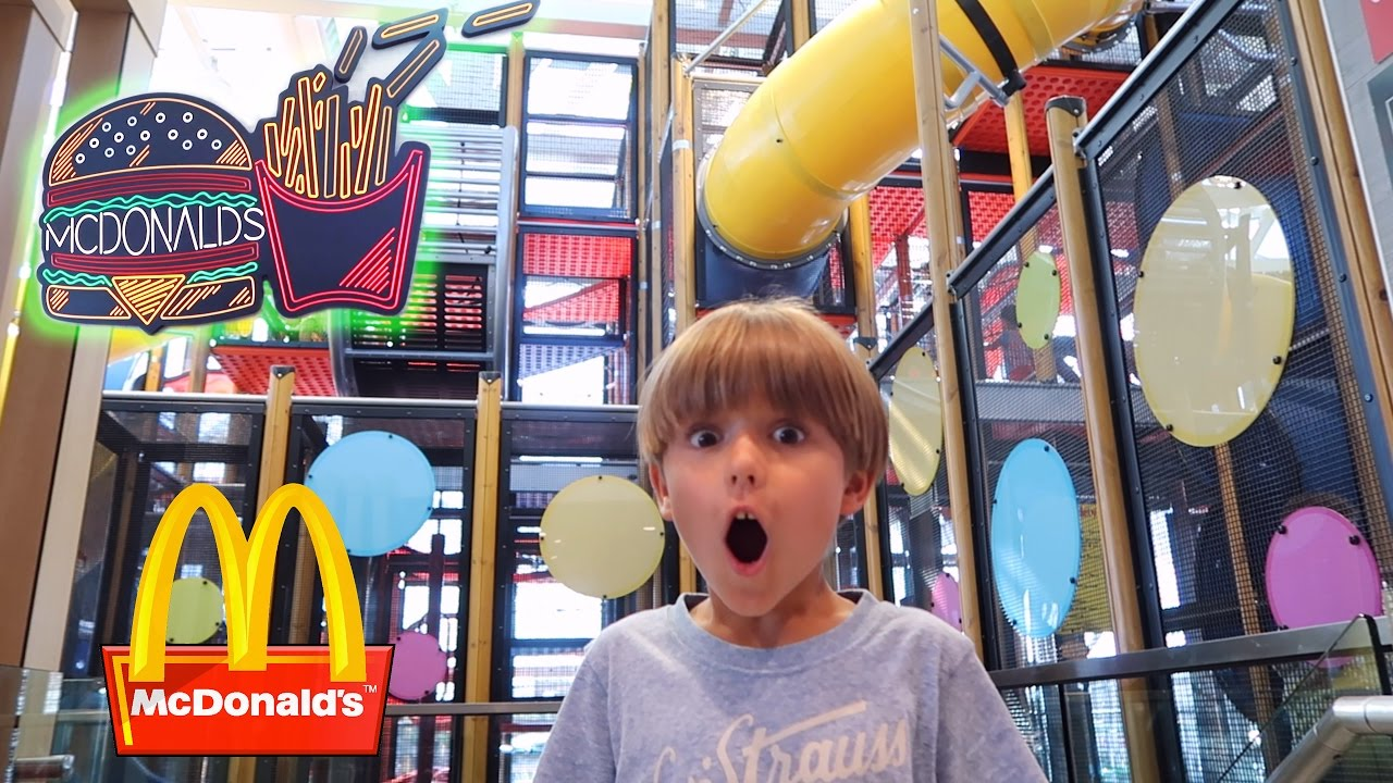 World's Best McDonald's ! Fun, Toys, Playground and Arcade ...