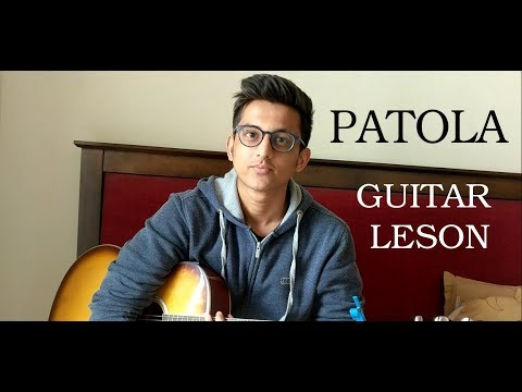 PATOLA (Guru Randhawa) simple guitar lesson in 2 minutes.
