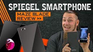 MAZE BLADE 📱 Spiegelndes Smartphone mit Sony Xperia XZ Anleihen? [Review, German, Deutsch]