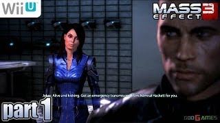Mass Effect 3: Special Edition 1080P WiiU - Part 1