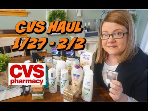 CVS HAUL 1/27 - 2/2 | MONEYMAKER PANTENE, 4¢ FEBREZE & MORE!