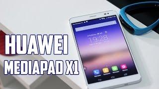 Huawei Mediapad X1, Review en español