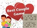 2018 Best couple game for Christmas day & new year party // fun games for couple kitty party