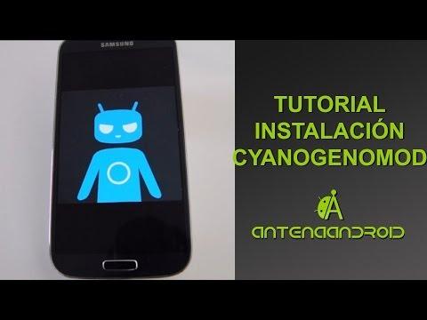Como Instalar Cyanogenmod en tu smartphone, paso a paso, sin ser root.