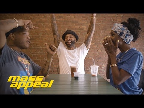 JUICE APPEAL: Joe Budden stops by Juices for Life with Adjua Styles and Styles P. | Mass Appeal