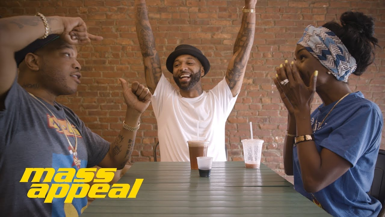 JUICE APPEAL Joe Budden stops by Juices for Life with Adjua Styles and  Styles P.