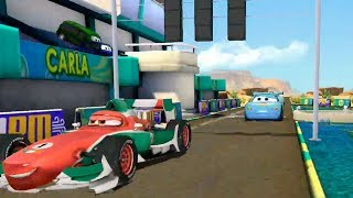 Champion Lightning Mcqueen Loses to Francesco Bernoulli Disney Pixar Cars Race Game for Children