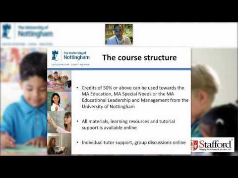 University of Nottingham PGCEi Webinar - December 13