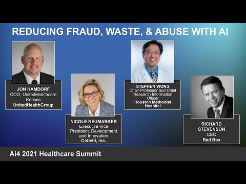 Panel: Reducing Fraud, Waste & Abuse with AI