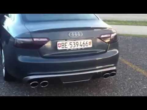 Audi S5 V8 Sound Fox Exhaust syst