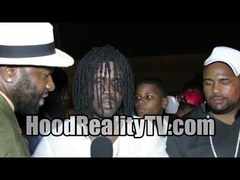 "Chief Keef ""Put The Guns Down"" Hood Interview"