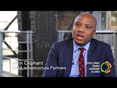 Sustainable infrastructure finance, expected returns? John Oliphant, Johannesburg.