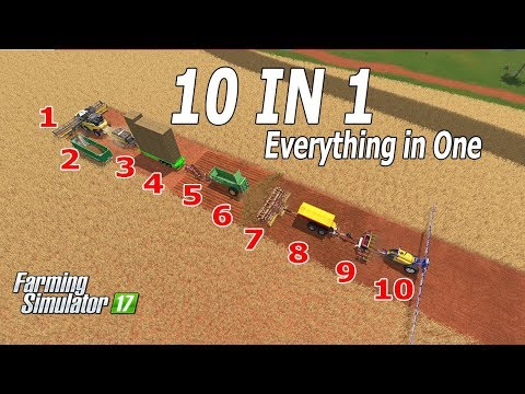 Farming Simulator 17| The Crazy Farmer Series Continues!!! 10 in 1 - Funny Farmer 😁😁😀