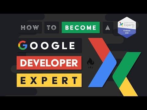 How to Become a Google Developer Expert (GDE)