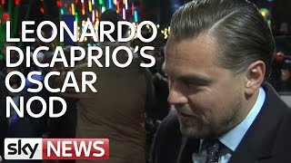 Leonardo DiCaprio On His Oscar Nomination For The Revenant