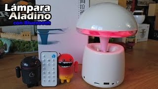 A LA Magic Lamp 3 en 1 - Unbox y review [Altavoz 3W con LEDS]