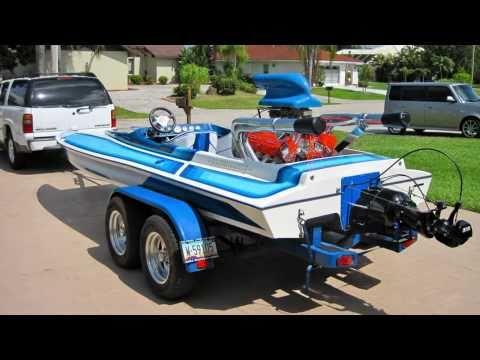1985 Eliminator Daytona Picklefork Tunnel Hull Jet Boat - YouTube
