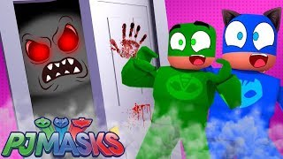CAT BOY, CORUJITA AND LAGARTIXO WERE SPIED BY THE DEATH MONSTER IN ROBLOX-PJ MASKS