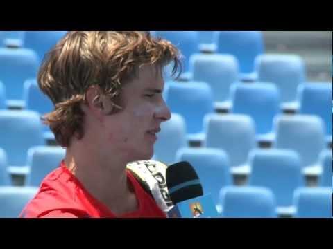 Adam Feeney vs Ben Mitchell: Australian Open 2013 Play-off highlights