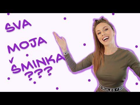 MOJA KOLEKCIJA ŠMINKE 2018.