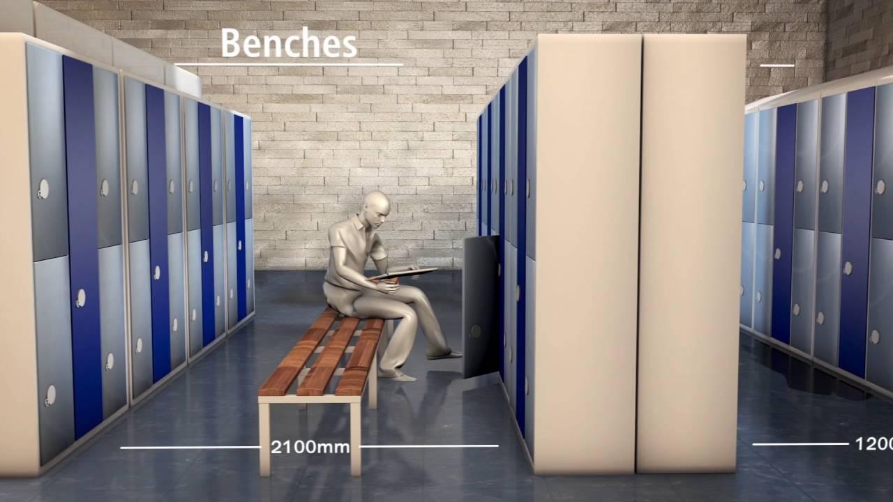 Locker Room Design Layout Plans for Locker Room RenovationLocker