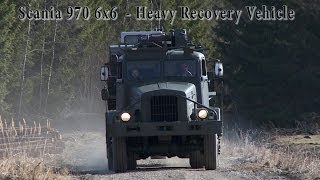 Scania 970 6x6 - Heavy Recovery Vehicle
