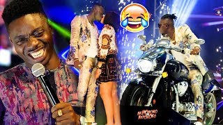 Akpororo Crazy Entrance shutdown  Akpororo vs Akpororo Destalker comedy Brilliance Outstanding