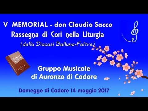 V MEMORIAL don Claudio Sacco Sonador - Rassegna di Cori nella Liturgia