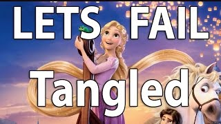 Repeat youtube video EWW... Lets Fail Tangled | Movie Mistakes, Goofs and Plotholes | Disney Parody