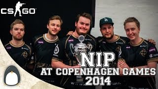 CS:GO - NiP at Copenhagen Games 2014 (Highlights/Fragmovie)