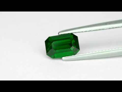 2.05-Carat Top Grade Deep Chrome Green Eye-Clean Tsavorite