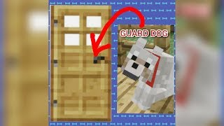 How to make a Working Guard Dog | MINECRAFT