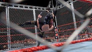 WWE Wal3ooha: نزال القفص الحديدي بين برون سترومان وبيج شو ينتهي بطريقة خرافية