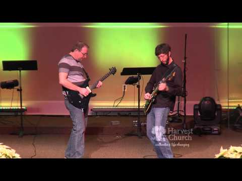 Christmas Guitar Duet from Harvest Church