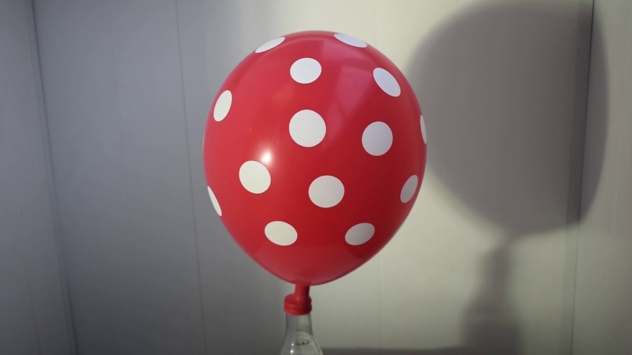 Как сделать летающий шарик без гелия