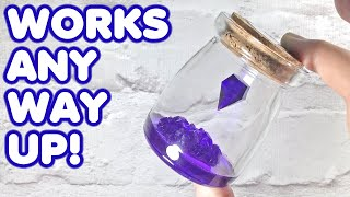 How to Make a Magical Levitating Crystal that SPINS | DIY Epoxy Resin Project Tutorial