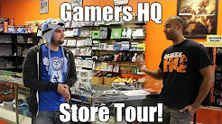 Gamers HQ - Video Game Store Tour & Overview - Topeka, KS