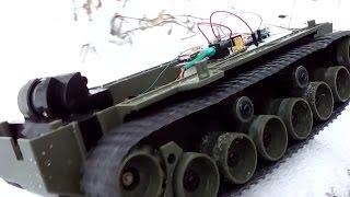 Проект на Arduino: Гусеничное шасси. Ч.1