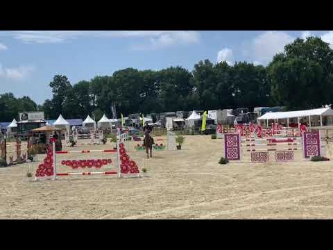 Elina de Grandry - Grand Prix TOP 7 140 Pôle équestre Vendéen - Gagnante