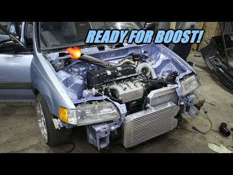 We Made A Full Turbo Kit For Wago In A Day!