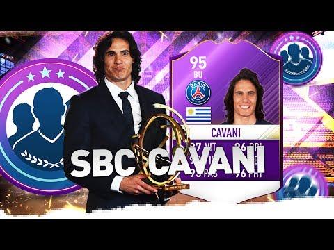 "FUT17   SBC ""Player Of The Year"" EDINSON CAVANI"