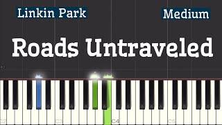 Linkin Park - Roads Untraveled Piano Tutorial | Medium