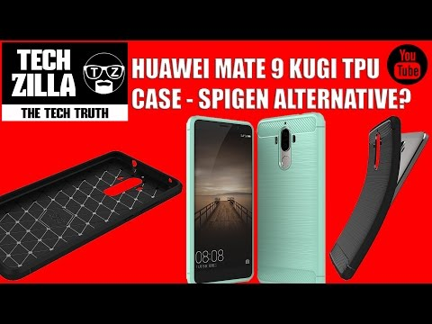Huawei Mate 9 Kugi TPU Case Review - Cheap Spigen Alternative?