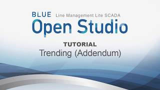 Video: BLUE Open Studio Tutorial #20.5: Trending (Addendum)