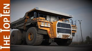 The Top Ten Largest Dump Trucks In The World